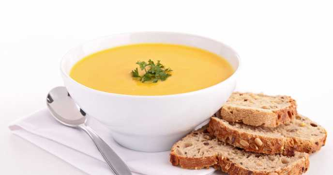 Ginger Spiced Pumpkin Soup