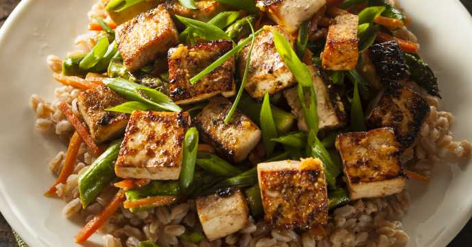 Easy Hoisin Tofu Stir Fry