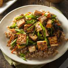Easy Vegan Hoisin Tofu Stir Fry Recipe