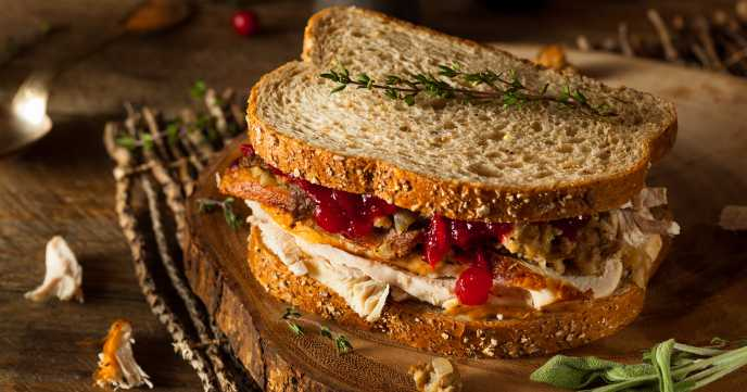 Turkey & Cranberry Sandwich Recipe
