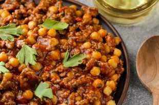 Turkey Chilli with Chickpeas