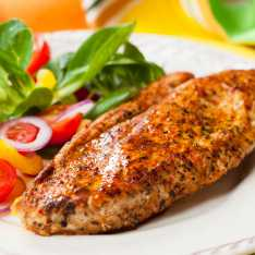 Marinated Turkey Steaks