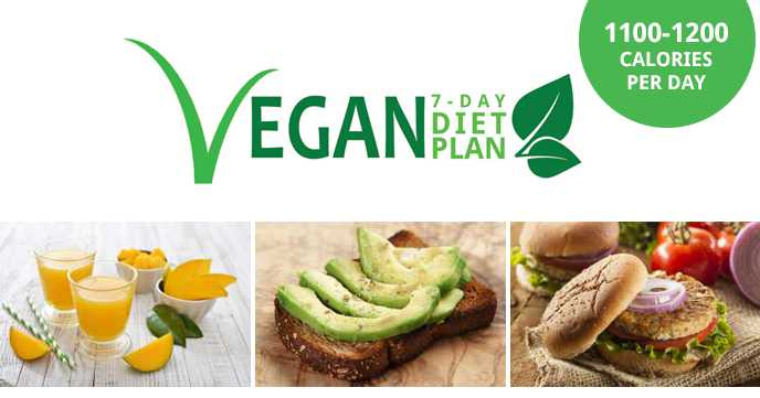 7 day vegan diet plan