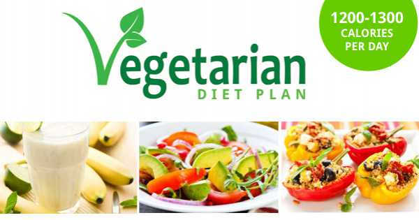 Suggested Vegetarian Weight Loss Meal Plan - Weight Loss Resources
