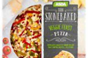 Veggie Feast Thin Stonebaked Pizza