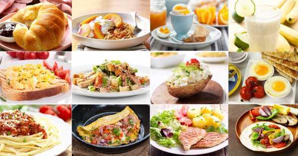sample week diet of bland foods