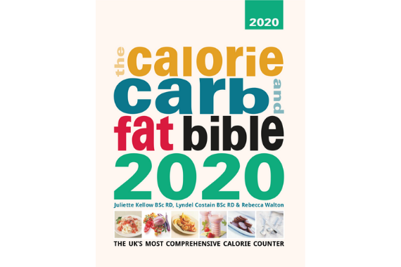 Calorie Carb Fat Bible Front Cover 2020