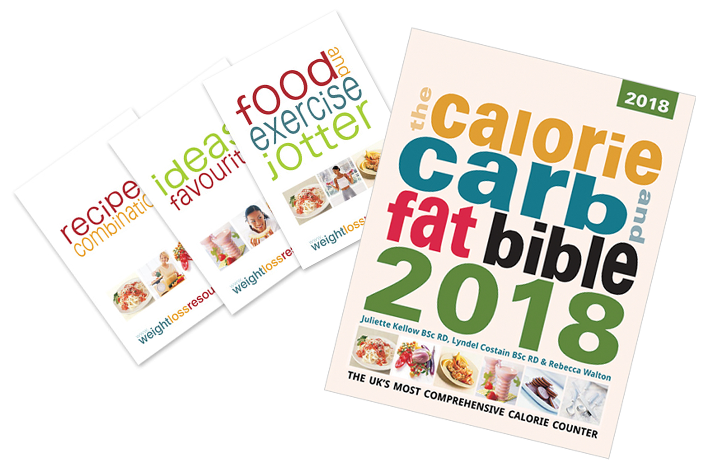 Bundle: Bible 2018 + Calorie Counting Essentials