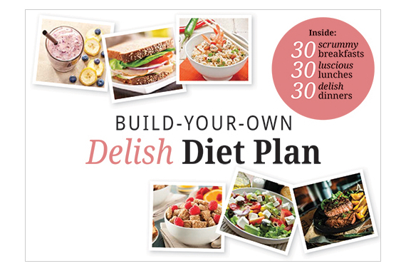 Delish diet plan book cover