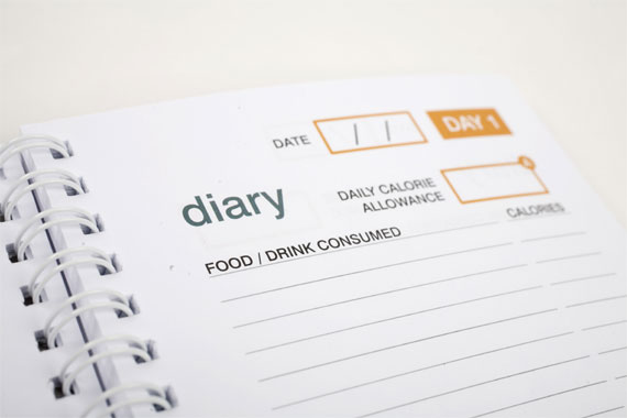 weight loss resources food diary
