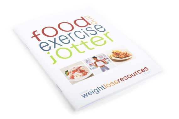 wlr food and exercise jotter cover