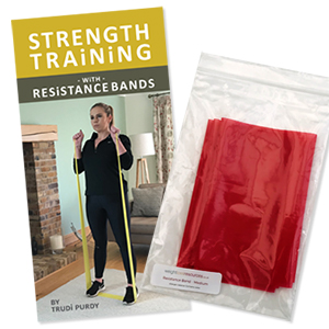 Strength Training with Resistance Bands plus MEDIUM Thumb