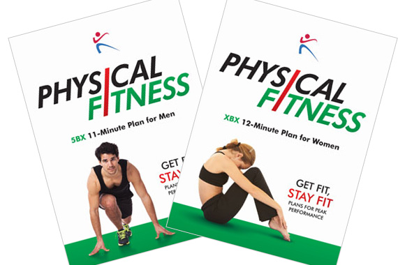 5bx and xbx fitness plan book covers