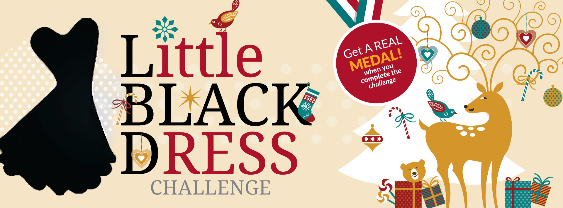 Christmas Challenge.The Little Black Dress Christmas Challenge Weight Loss